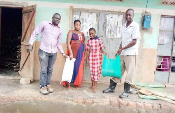 MANNYA COMMUNITY GETS COVID RELIEF