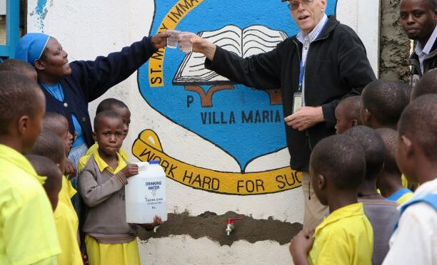 St. MARY IMMAcULATE GETS RECOGNITION FOR IMPROVING COMMUNITY HEALTH THROUGH HER SAFE DRINKING WATER PROJECT
