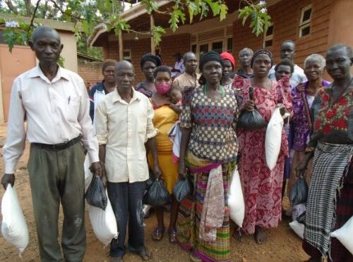 TUL PARTNERS OF BULIKIMU KISOBOKA NGO JINJA DONATE FOOD TO THE VULNERABLE COMMUNITIES OF KIMASA
