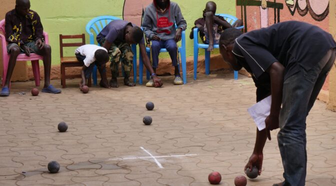 THE CHILDREN AT THE SDCG PARTICIPATE IN SPORTS